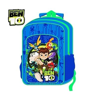 (Ben10) - New Children's Character Deluxe Wheeled Trolley Suitcase-Back Pack,