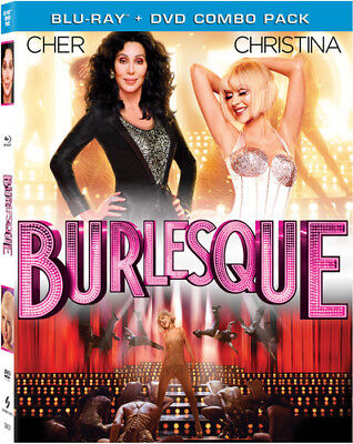 Burlesque [2 Discs] [Blu-ray/DVD] (Blu-ray Used Like New) BLU-RAY/WS