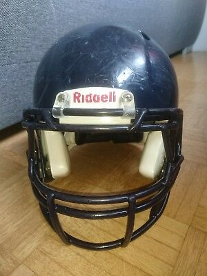 Riddell Revolution Speed Large navy dunkelblau American Football Helm