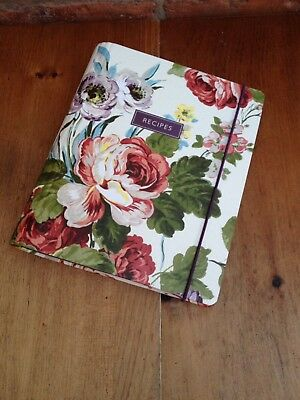 Floral Laura Ashley Recipe Book