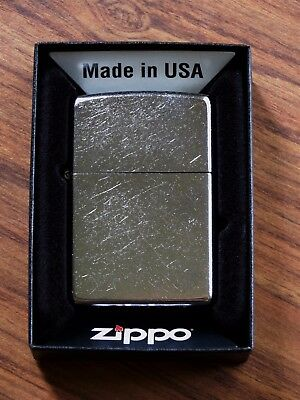 Zippo Lighter Regular Street Chrome Windproof Lighter #207 New in Box