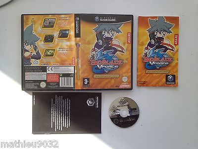 Beyblade V-Force Super Tournament Battle Nintendo Gamecube GC Wii PAL FR