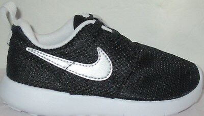 57e378ae2fe9 ... sweden boys nike roshe one tdv black metallic silver toddlers pull on  shoes size bd8c2 6b9e3
