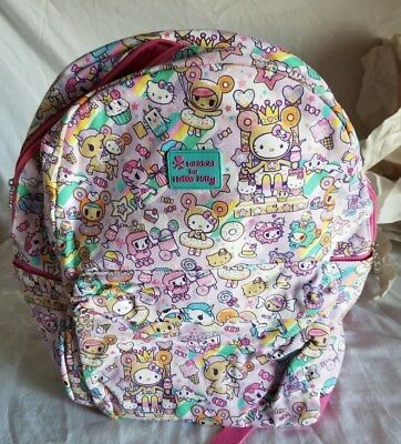 """NWT Tokidoki x Hello Kitty Canvas Backpack """"2017 Sweets Collection"""""""