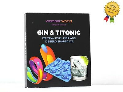 Novelty Titanic Silicone Ice Cube Bar Maker Shape Jelly Drinks Valentines Gift