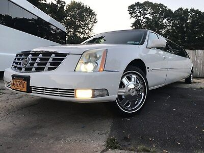 """2008 Cadillac DTS Limo 2/6/18 Price Lowered: 2008 Cadillac DTS 130"""" Limousine by Tiffany Coachbuilders"""