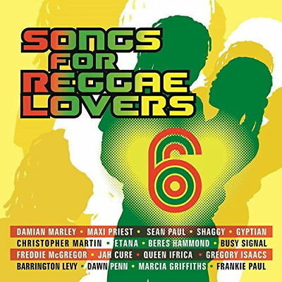 SONGS FOR REGGAE LOVERS VOL.6 2 CD VARIOUS ARTISTS (New Release February 2018)