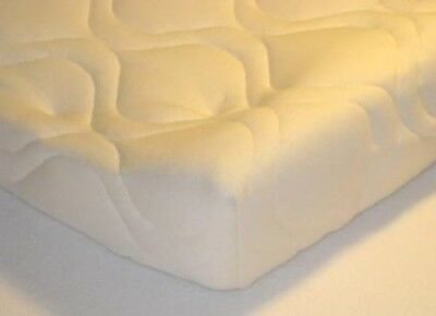 Quilted Contoured Changing Table Pad Cover - Ivory - Made In USA. sheetworld