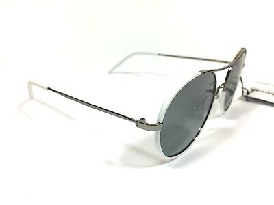 9164ac79731b Polaroid Sunglasses White w Grey Polarised lens PLD1021 S 6LBAH