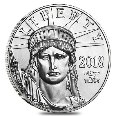 2018 1 oz Platinum American Eagle $100 Coin BU