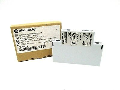 New Allen Bradley 100-Sa11 Series B Auxiliary Contacts Side Mnt. 100Sa11