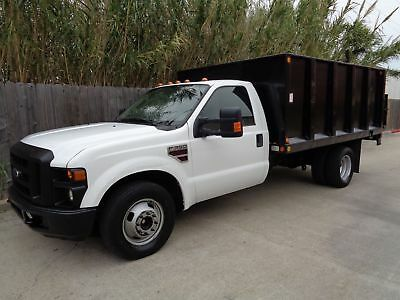 2009 Ford F-350 XL 2009 Ford Superduty F350 XL Flatbed with Tommygate 6.4L Powerstroke Turbo Diesel