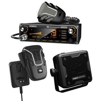 Uniden Bearcat 980 CB Radio with Wireless Microphone and Speaker