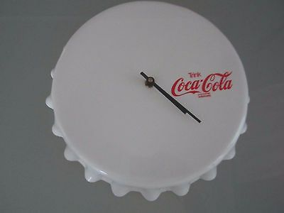 COCA COLA Alte Wand Uhr Made in West Germany Kienzle Uhrwerk Kult TOP ZUSTAND