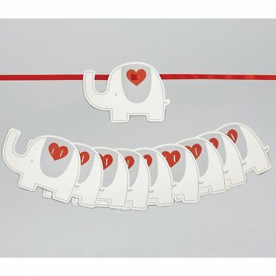 Natures Purest My First Friend Elephant Garland Bunting (0165)