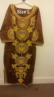 Beautiful african embroidery dress