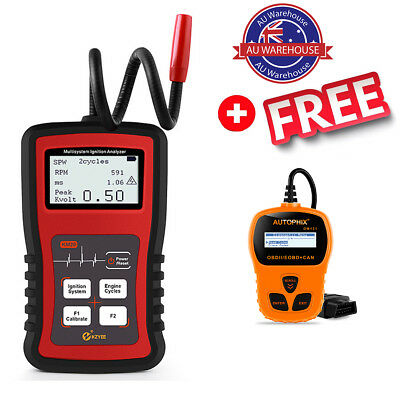 Automotive Engine Ignition Analyzer Car Spark Plug Tester Pulse Signal Analyzer