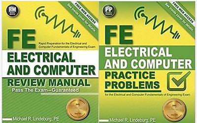 FE Electrical Computer Review Manual and Practice Problems by Michael Lindeburg