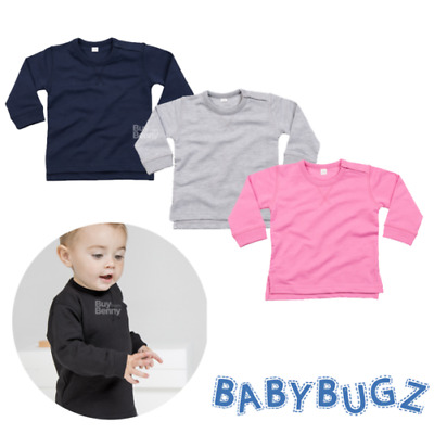 Baby Sweatshirt Comfortable Soft Jumper Long Sleeve Top Boys Girls Fashion Kids