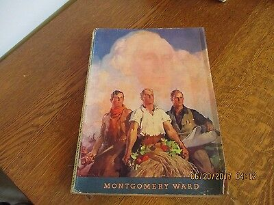 Vintage 1934 Wards Catalog Spring & Summer Kansas City 120