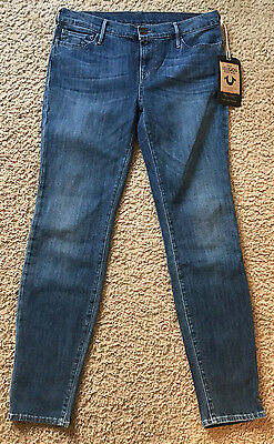 NWT True Religion Abbey Super Skinny Jeans Size 29 $185