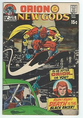 The New Gods #3 (July 1971, DC) 1st Black Racer FN/FN+