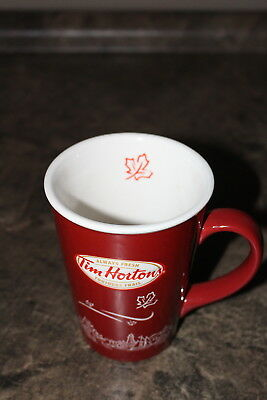 Tim Hortons Red Limited Edition Coffee Mug Cup Advertising Coffee Chain