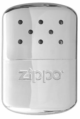 New / Zippo (40321) Mini Chrome Hand Warmer & Pouch - 6 Hour / Aussie Stock !