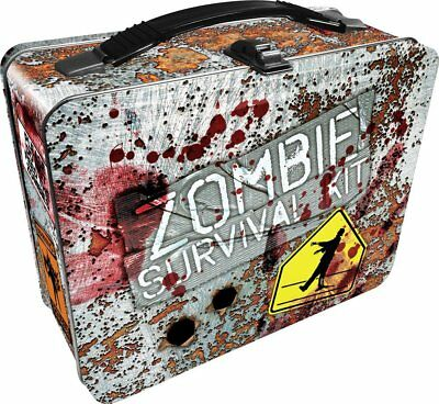 Lunch Box - Zombie Survival - Gen 2 Metal Tin Case New Licensed 48170