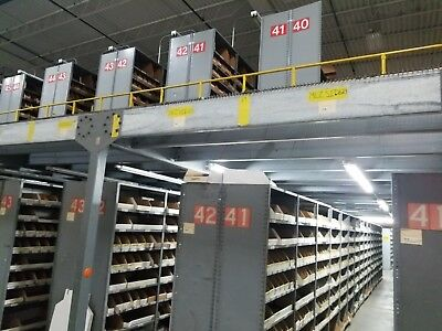 """INDUSTRIAL Shelving LYON Steel,84"""" X 36"""" X 18""""  2000 sections Available"""