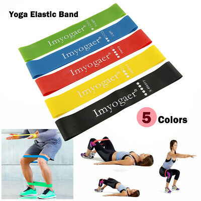 Sport Resistance Bands Loop Exercise Yoga Elastic Workout Band Fitness Training