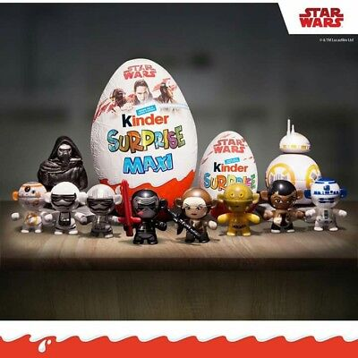 2017 Kinder Surprise STAR WARS Twisthead Figures - YOU PICK WHICH ONE YOU WANT!!