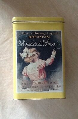 Nabisco Shredded Wheat Tin From Bristolware 1992