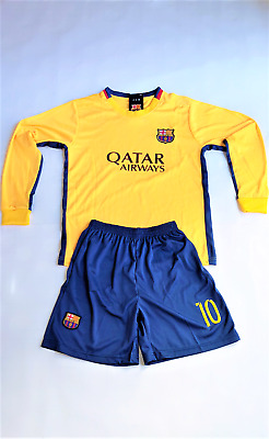 5d3dbcf54c2 2016 2017 barcelona 21 adriano purple away soccer jersey club soccer  jerseys 13 14 . barcelona 10 messi soccer jersey shorts with long sleeve  top kids youth ...