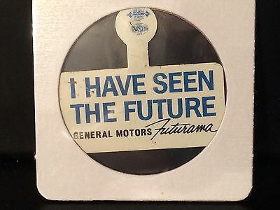 Vintage 1964-1965 New York World's Fair I Have Seen The Future Pin