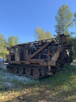 Parts Geothermal Drill Nodwel Fn60 Track Crawler Normac Mobile Drill Geothermal