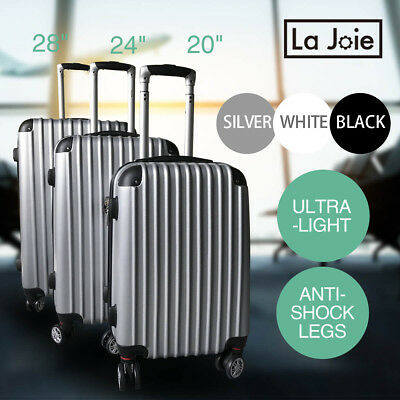 Hard Luggage Case Suitcase Trolley Set TSA Lock Travel Carry On Bag Lightweight