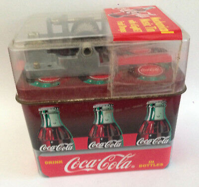 Vintage COCA COLA MUSIC BOX rare Australian novelty soft drink promo Coke