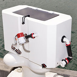New Era Live Bait Tank - 55 Ltr Complete with Pump/Hose @ Fittings