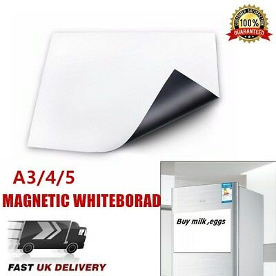 Magnetic Meal Planner Memo Board Whiteboard Fridge A4 A5 Dry Wipe Family Notepad