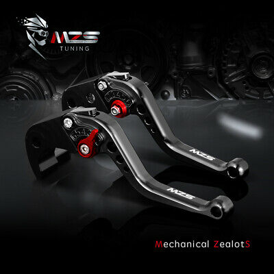 MZS short clutch brake levers for Yamaha MT10 MT-07/FZ-07 FZ-09/MT-09/SR 2014-17