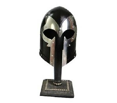 Medieval-Barbute-Helmet-Armour-Helmet-Roman-knight-helmets-leather-Inner-Liner