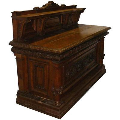 Antique Late Victorian 'circa 1900' Oak Country House Sideboard