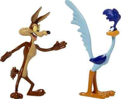 Looney Tunes: Road Runner and Wile E. Coyote Bendable Figure Set