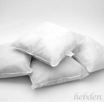 "Pack 4 Cushion Pads Inserts Fillers Inner HollowFibre Filled 12"" 14"" 16"" 18"" 20"""