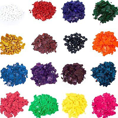 CANDLE WAX DYE color chips Soy Candles making Kit Coloring Pack ...