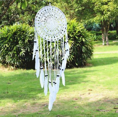 """Huge Large 30"""" Long Handmade Dream Catcher Hanging Wall Feathers Ornament Decor"""