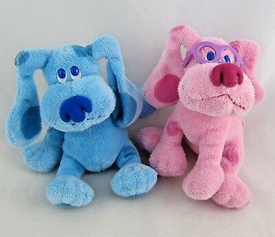 mailbox blues clues plush. Blues Clues Plush By TY Set Of Two: Blue And Magenta 6\ Mailbox