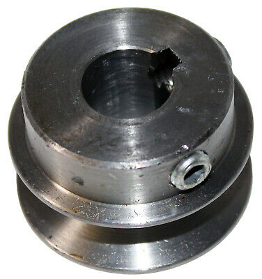 "AK17X5/8 Steel V-Belt Pulley 1.75"" x 5/8"" 4L A Belt Kyed Finished Bore Sheave"