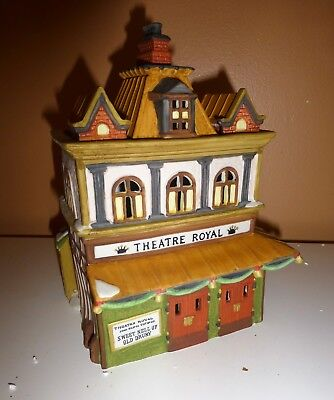 Heritage Village Collection Dickens Series Department 56 Theatre Royal # 5584-0
